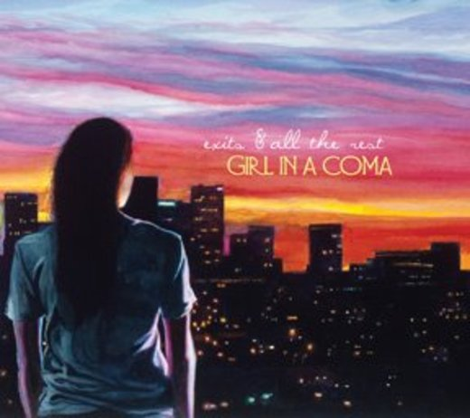 Portrait of Girl In A Coma