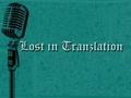 Portrait of Lost In Tranzlation