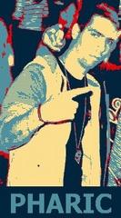 Portrait of DJ Pharic