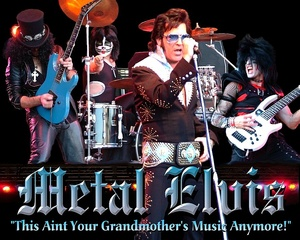 Portrait of METAL ELVIS